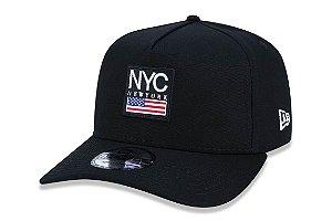 Boné New Era 940 NYC Aba Curva - Snapback