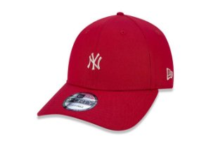 Boné New Era 940 Aba Curva Minilogo Yankees - Snapback