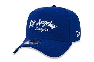 Boné New Era 940 Aba Curva Script Dodgers - Snapback