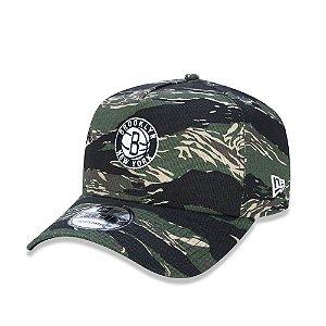 Boné New Era 940 Aba Curva New Yankees Militar - Snapback