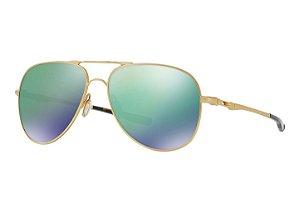 Óculos Oakley Elmont L Satin Gold Jade Iridium