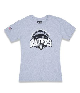 Camiseta New Era Infanto/Juvenil Oakland Raiders