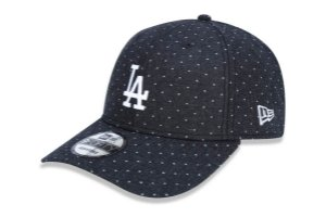 Boné New Era 940 Aba Curva Los Angeles Dodgers Dots - Snapback