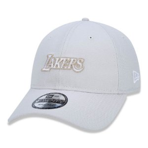 Bone New Era 920 Los Angeles Lakers NBA Strapback