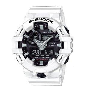 Relógio Casio G-Shock GA-700 - Branco
