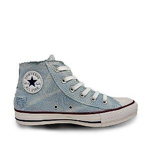 Tênis Converse Chuck Taylor All Star Hi - Jeans Azul
