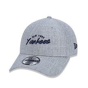 Boné New Era 920 NY Yankees Cinza - Strapback
