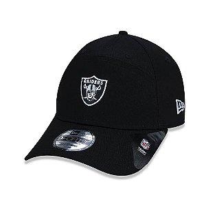 Boné New Era Oakland Raiders Mini Logo Preto - Snapback