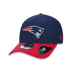 Boné New Era 940 New England Patriots Azul/vermelho - Snapback