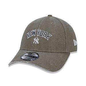 Boné New Era 940 New York Yankees Chumbo - Snapback