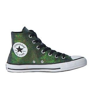 Tênis Converse Chuck Taylor All Star Hi - Verde Brilho