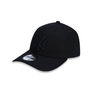 Boné New Era 940 New York Yankees Aba Curva - Preto
