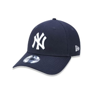 Boné New Era 940 New York Yankees Aba Curva - Marinho