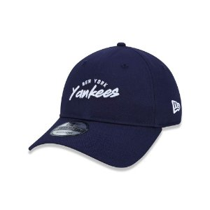 Boné New Era 920 New York Yankees Feature Logo - Marinho
