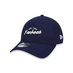 Boné New Era 920 New York Yankees Feature Logo - Marinho