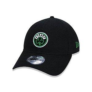 Boné New Era 920 Boston Celtics Neon Logo - Preto
