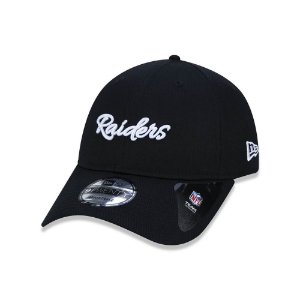Boné New Era 920 Oakland Raiders History Logo - Preto