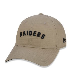 Boné New Era 920 Essentials AC Ground Oakland Raiders - Kaki