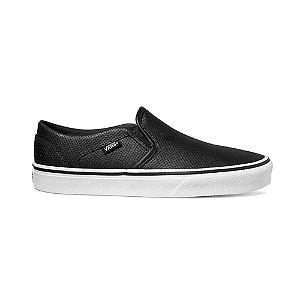 Tênis Vans Ashe Perf Leather - Preto