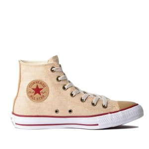 Tênis Converse Chuck Taylor All Star Hi - Natural/Caqui