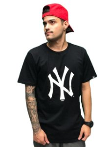 Camiseta New Era Básica - Essentials NY