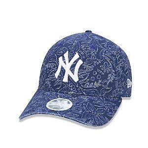 Boné New Era 9Twenty Aba Curva New York Yankees -  Strapback