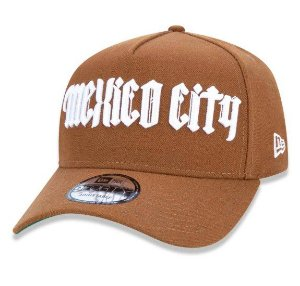 Boné New Era 940 Aba Curva Cities Flag - Strapback