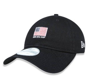 Boné New Era 920 Aba Curva Mini Flag - Strapback