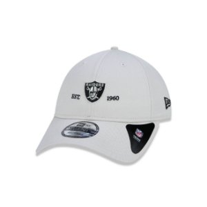 Boné New Era 920 Aba Curva Essentials Basic Oakland Raiders - Strapback