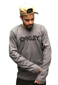 Camiseta Manga Longa Oakley Mark Tee