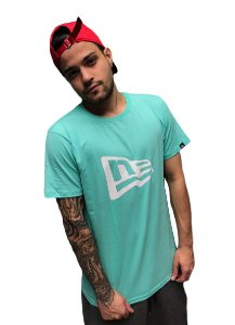 Camiseta New Era Essentials Basic Flag Masculina