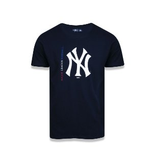 Camiseta New Era New York Yankees - Marinho