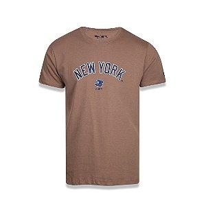 Camiseta New Era New York Yankees - Kaki