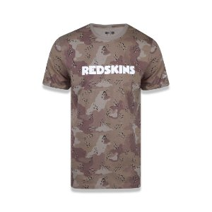 Camiseta New Era Washington Redskins - Camuflado