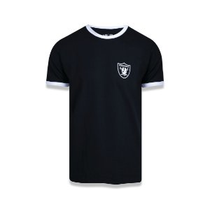 Camiseta New Era Oakland Raiders - Preta