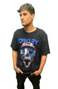 Camiseta Oakley Mod Poisonous Tee Masculina