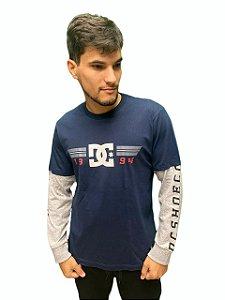 Camiseta DC Manga Longa Racing Masculina