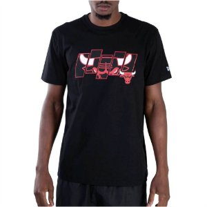 Camiseta New Era Nba Chicago Bulls Essentials Five Masculina
