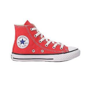 Tênis Converse Chuck Taylor All Star Hi Kids - Vermelho