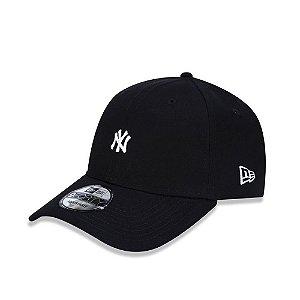 Boné New Era NY Yankees Aba Curva - Preto