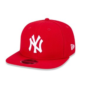 Boné New Era 950 New York Yankees Aba Reta - Vermelho