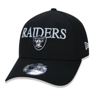 Boné New Era 940 Las Vegas Raiders - Preto