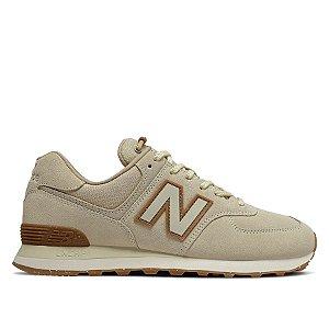 Tênis New Balance 574 - Bege