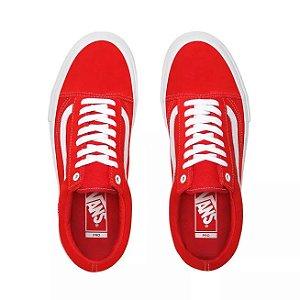 Tênis Vans Old Skool Skate Pro - Vermelho