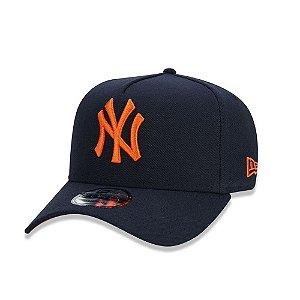 Boné New Era MLB New York Yankess Aba Curva Snapback