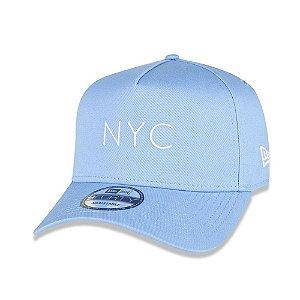 Boné New Era 9Forty NYC Core Candys Azul Snapback