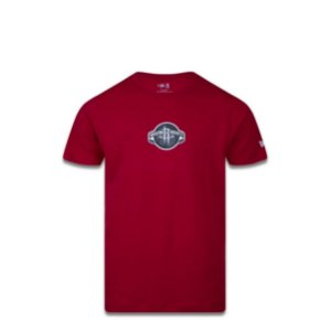 Camiseta New Era Houston Rockets Vermelha