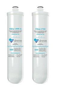 Kit Filtros Cânovas PPF 5 e T33