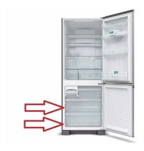 Gaveta Freezer PANASONIC NR-BB51 NR-BB52 NR-BB53