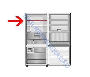 Prateleira Superior Refrigerador PANASONIC NR-BB51 NR-BB52 NRBB53